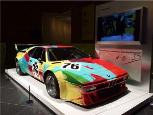 写真:BMWアートカー